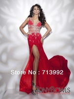 New Style Elegant Mermaid Evening Dresses Sequins Sweetheart Floor Length Prom Party Gowns Women Formal Dress 2013