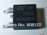 Free shipping 100PCS/lot  78M05 TO-252-2 output 5V 500ma