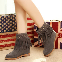 2013 new fashion Snow boots flat fashion winter boots outsole casual boots free shipping