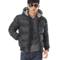 M L XL XXL XXXL Fashion Hoodies Warm Jacket 2014 Newest Quality Casual Men's Winter Coat Free Shipping