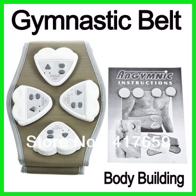 1pcs Electronic AB Gymnic Gymnastic Body Building ABS Belt Exercise Toning Toner Waist Muscle Fat Loss Wholesale(China (Mainland))