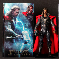 "The Mighty Thor movie model Manhattan Thor 2 The Dark World Action Figure Thor PVC Figure Collection Toy 12"" 30CM"