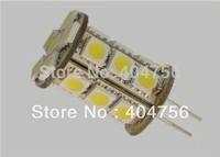 AC / DC12V G4 4W LED Car bulb 21 SMD 5050 460LM Warm white / Pure white