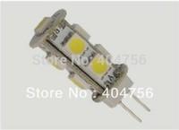 DC12V G4 2W LED Car bulb 9 SMD 5050 190LM Warm white / Pure white