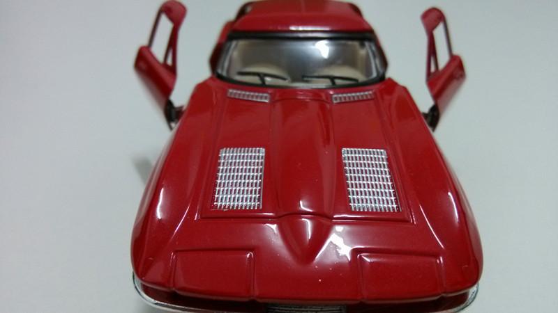 classic mdoel car1964 chevrolet corvette toys for children classic diecast car subaru impreza classic car diecast model(China (Mainland))