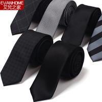 highly quality brand Men's Microfiber Neckties 5cm  fashion tie neck ties striped marrige men ties Free shipping