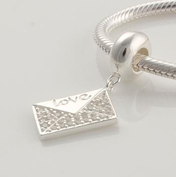 Yb101 925 pure silver jewelry diy beads swing bead silver beads