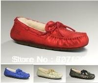 Free Shipping Newest Womens Dakota Metallic 1002807 Australia Snow Boots 100% Real Sheepskin with original box, Size US5-10