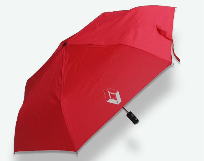 Красный авто открытия / закрытия складной зонт со светодиодной подсветкой для Renault Megane Clio L47 Koleos Laguna авто подарок бесплатная доставка