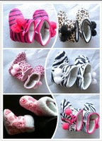 cute baby boots free shipping zebra Baby boots,leopard baby boots,baby zebra snow shoes,infant shoes hottest item