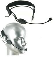 Black ME3 Headset Head Microphone For Wireless Mic System (4 plug for choice: 3.5MM Screw Lock, TA4F , TA3F , ATH 4pin )