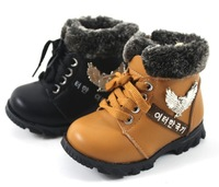 2013 new autumn&autumn Kids Children's warm cotton-padded shoes Baby Boys and Girls boots winter sneakers