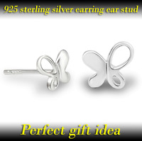 New arrival GENHAO ladies' fashion earrings latest style ear stud 925 sterling silver jewelry perfect gift idea free shipping