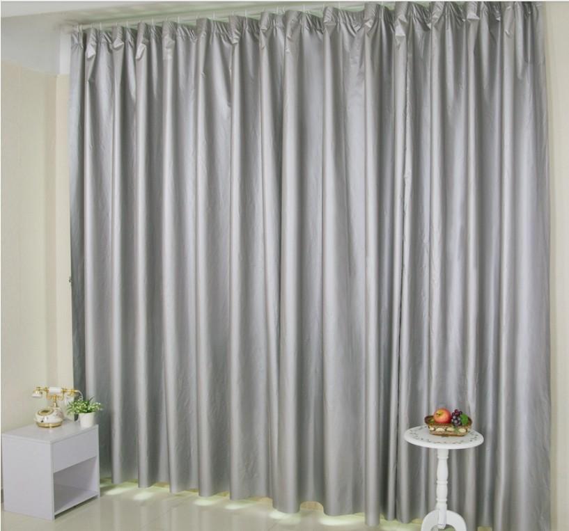 Compra silver grey and black curtains online al por mayor - Cortinas gris plata ...
