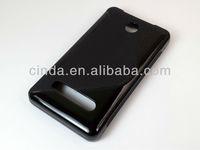 100pcs/lot Free shipping Crystal S-Line TPU Soft Plastic Gel Case For  Nokia Asha 210