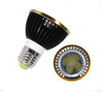 50x High Power Dimmable Led E27/GU10/E14/b22 Par20 5x3W 15W LED Light Spotlight 85V-265V Par 20 FREE SHIPPING