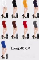 Women's 2013 autumn slim bag skirt candy color slim hip skirt bust skirt short skirt