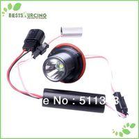 free shipping 1pairs Super White 10W CREE High Power LED Angel Eyes Bulbs For BMW E39 E60 E63 E64 E65 E66 E53 E83 X3