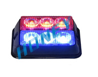 Dash/deck/visor Lights+19 Flash patterns+Gen-3 LED 1W tubes+Aluminium alloy+ PC Lens+Free Shpiping