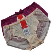 free shipping new arrival D630 cutout gauze seamless women's mid waist boxer panties fa630 fc631 ec632 pants