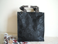 Black fashion bag 4118