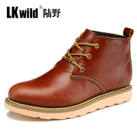 Free shipping Z.suo 2013 new arrive men's fashion genuine leather shoes casual elegant ankle boots male trend martin boots 39-44