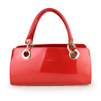 2013 red married bridal bag japanned leather fashion bag fashion ol bag patent leather female bags