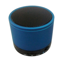 Blue Small Mini Bluetooth Speaker with Strong Beats Mini Portable Wireless Audio Speaker for Cell Phone Free Shipping