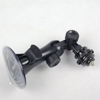 Universal Car Window Suction Cup Video Camera Swivel Mount Tripod Support Holder
