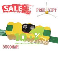 Free Side Brush & 3500mAh Battery for iRobot Roomba 500 600 700 Series Cleaner 770 780 790 Battery