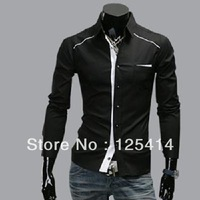 2013 New style Autumn men's long sleeve shirt