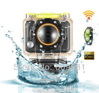 Good Copy as hero 3 go pro 3 1080P Wifi watch underwater Full HD Mini camera waterproof video camera