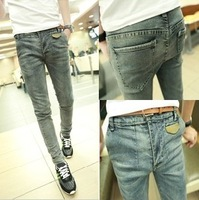 2013 autumn men's skinny pants slim trousers male trousers male jeans