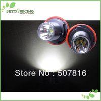 free shipping 3pairs Cree 10W White LED Angel Eyes Marker light For BMW X3/e39/e53/e60/e63/e87