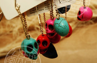 Minimum Order $20 (mixed order)   fashion jewelry  female accessories skull Earrings