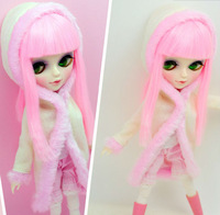 12 Inches Fashion BJD Tangkou Blythe Doll ,The Italian Girl With Changeable Eyes,Include Wig,Clothes,Full Ball Jionted Dolls