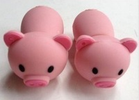 cute pig model USB 2.0 Enough Memory Stick Flash pen Drive 8G-32G, Pig USB Flash Drive