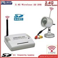 2.4G HD Wireless Video Recorder DVR support SD to 32GB+2.4G Wireless camera