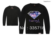 Diamond Supply Co. Sweatshirts men's hip hop long sleeve tee  5 styles sportswears Free Shipping Size S-XXL