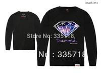 Diamond Supply Co. Sweatshirts men's hip hop long sleeve tee sweaters 5 styles sportswears Free Shipping Size S-XXL