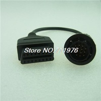 Promotion New arrival HIGH QUALITY NEW Mercedes BENZ Sprinter 14 Pin to OBD2 16 Pin Adapter Cable