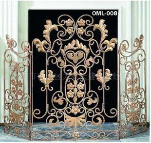 American fireplace iron screen net fireplace guardrail fireplace frame fireplace cover guardrail