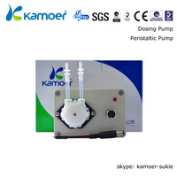 Kamoer  KCP-S10DEC0L 6V 17-70ML/MIN Flow Rate Peristaltic Pump with Silicon Tube