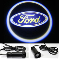 LED car logo Shadow Lights Ford Focus Kuga F150 S-MAX Explore Escape Mondeo logo light led door prejection welcome light