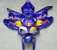Free shipping,OEM CBR1000 Fairing kit for Honda CBR1000RR 2004-2005 04 05 04-05 Red blue Motorcycle Fairings (Injection molding)
