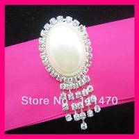 Free shipping Pearl&Crystal rhinestone diamante brooch pins,Wedding Chair Sash Pins,Flower Briadal Brooch Pins,Invitation Pins