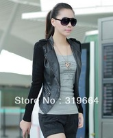 free shipping The new han edition dress stitching short coat
