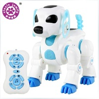 Free shipping intelligent machine dog remote control robot dog toy Electronic Pets children birthday Christmas gift