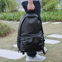 New arrival 2013 PU backpack student school bag  fashion backpack male travel bag