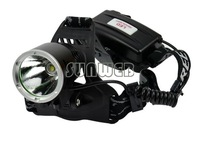 Hot Sell Rechargeable Headlight+ Charger Adapter(US Plug) 1600Lm 18650 CREE XM-L XML T6 LED Headlamp TK0231